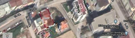 HÜDAVENDİGAR MAH. MERKEZİ NOKTADA 350 m2 2 KAT İMARLI ARSA - Dış Cephe