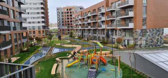 SURYAPI Şehir Konakları SATILIK SIFIR 2+1 DAİRE AYDIN TOPRAKLI - Çocuk Oyun Alanı