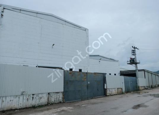 Mustafa Evci'den Çalı'da Kiralık Fabrika - Dış Cephe