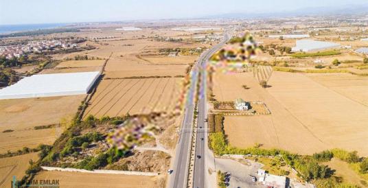 MANAVGAT D400'e SIFIR 11.112 m2 RUHSATLI PETROL YERİ - Arsa