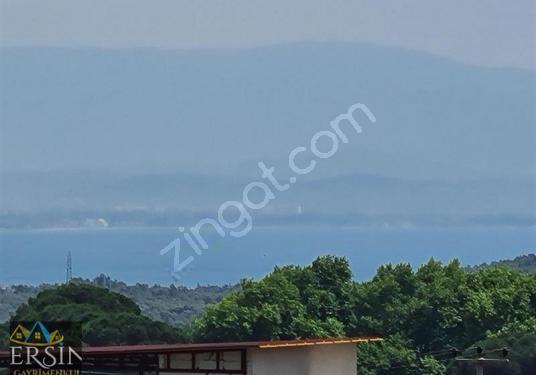 Ersin den Güre köyünde Full Deniz manzaralı %40 imar izinli Arsa - Manzara