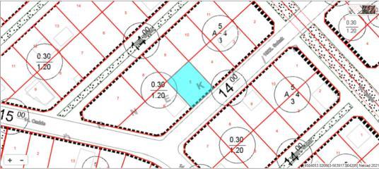TEKİRDAĞ ERGENE MARMARACIK MAHALLESİ 617 M2 KONUT İMARLI ARSA - Harita