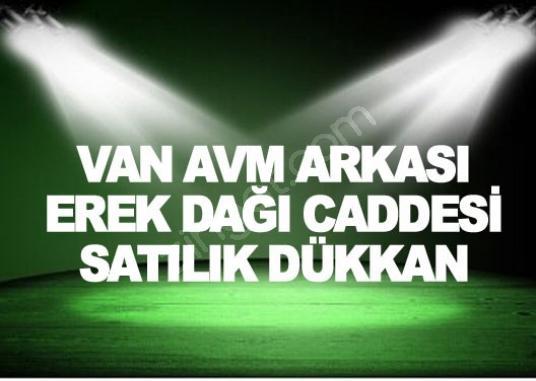 VAN AVM ARKASI EREK DAĞI CADDESİ SATILIK DÜKKAN - Logo