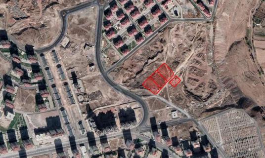 AKDAMAR - İLDEM'de DAİRE KARŞILIĞI KONUT ARSALARI - Site İçi Görünüm