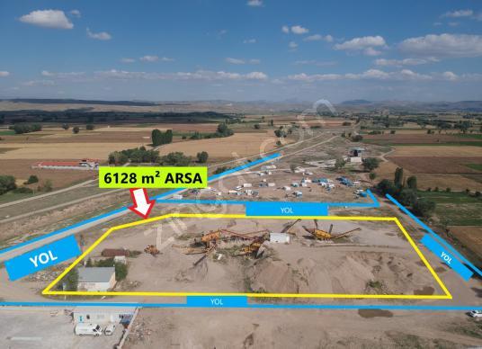 İLBEY II Şuhut_OSB de Satılık 6128 m² Arsa - Çocuk Oyun Alanı