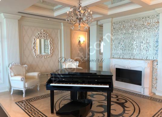 Sapphire Residence'ta Şık Yüksek Kat Avantajlı Satılık Penthouse - Salon
