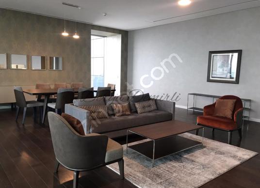Levent Sapphire Residence Yüksek Kat Boğaz Manzaralı Lüks 3.5+1 - Salon