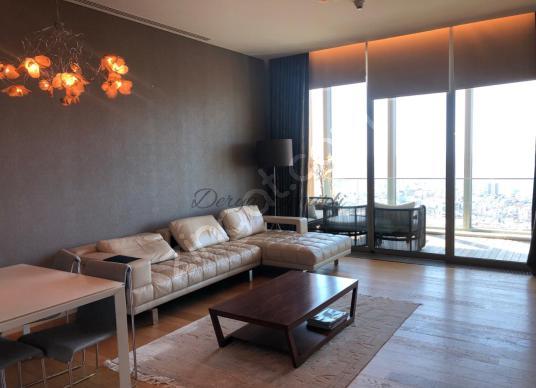 Beşiktaş Sapphire'de Şehir Manzaralı Yüksek Kat Lüks 1+1 Daire - Yatak Odası