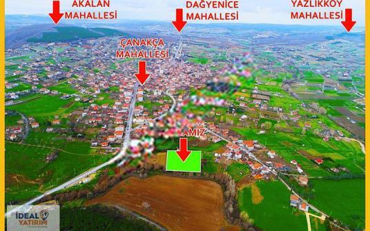 KESTANELİK KÖY MERKEZİNDE 3.700 m2 TEK TAPU - undefined