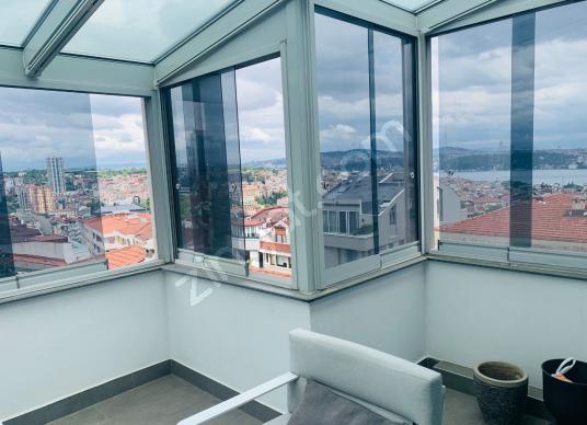 Nişantaşında Deniz Manzaralı Çift Teraslı Satılık Muhteşem Daire - Balkon - Teras