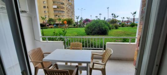 günlük  kiralık şirin bahçe katı flamingo 4 tatil köyünde 1+1 - Balkon - Teras