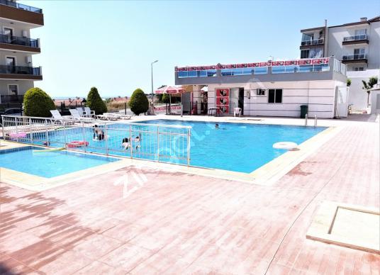 KUŞADASI SATILIK GENİŞ 2+1 ÇİFT BANYO WCLİ  BÜYÜK BALKONLU DAİRE - Yüzme Havuzu