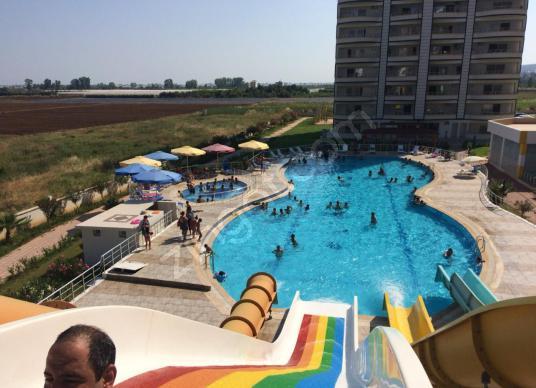 Mersin Silifke Atakent Günlük Kiralık 1+1 Yazlık Daire - Yüzme Havuzu