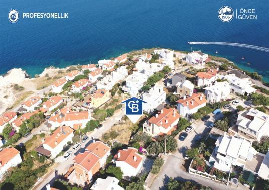 İzmir Karaburun İskele'de Deniz Manzaralı İmarlı Villa Arsası - Manzara