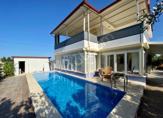 Karaova 1 Dönüm Arsa İçinde 4+1 Tek Müstakil Özel Havuz Villa - Yüzme Havuzu