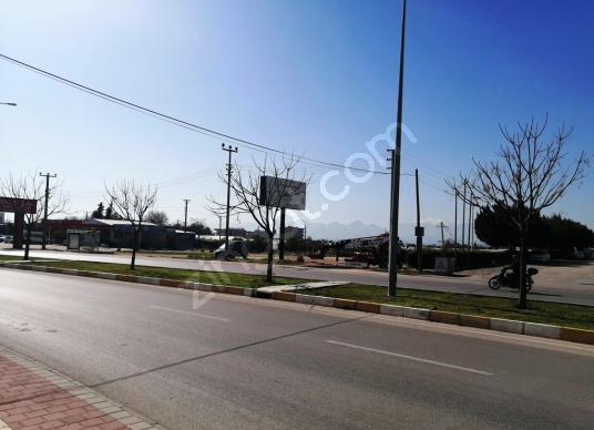 23- Dükkan-Bina imarlı, Antalya Altıntaş Satılık 4050 m2 Arsa - Sokak Cadde Görünümü