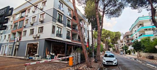 Milas Çamlı Sokakta 3+1 Yeni Daire - Sokak Cadde Görünümü