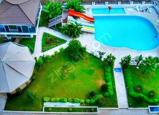 Konyaaltı Sarısuda Satılık deniz manzaralı dubleks residence 3+1 - Site İçi Görünüm