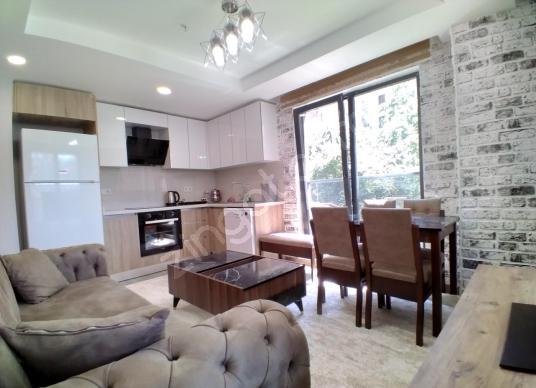 4.levent Genyap Wen Levent residence kiralık 1+1 eşyalı daire - Salon