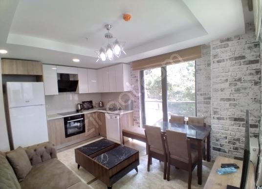 65 square meters 1+1 bedrooms Luxury Homes For Rent in Kağıthane, İstanbul - Salon