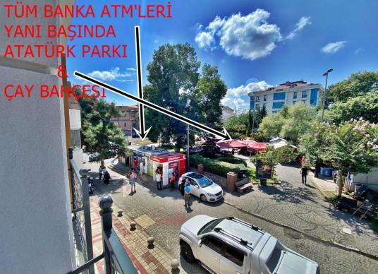 EMLAKVAR Samandıra Merkez'de Bankaların Yanı 2+1 İskanlı Daire - Sokak Cadde Görünümü