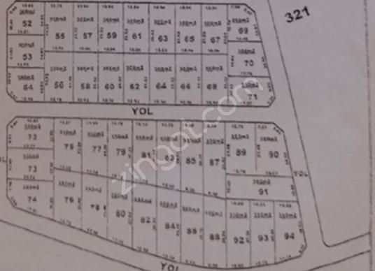 ÇATALCA ELBASAN'DA 500 m2 ELEKTRİK VE YOLU MEVCUT SATILIK PARSEL - Kat Planı