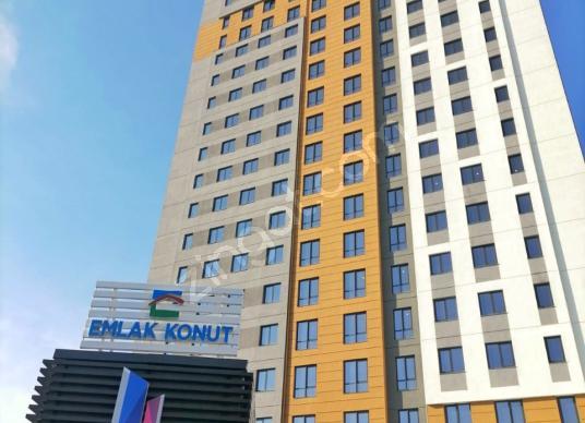 Bahçeşehir Semt Bahçekent'te Kiralık 1+1 Daire - Dış Cephe