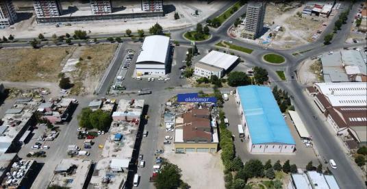 AKDAMAR - Orta Sanayi'de Hamam 365 Arkasında 3 Adet Kütle Parsel - Açık Otopark