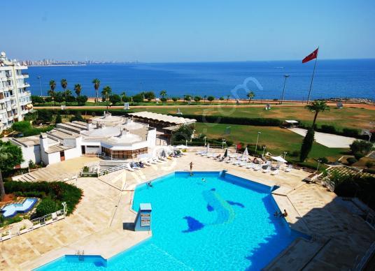 SOYLU'DAN DENİZE SIFIR D.GAZ KOMBİLİ GENİŞ 2+1 SATILIK DAİRE - Yüzme Havuzu
