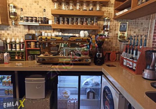 EMLAX'DAN MÜŞTERİSİ OTURMUŞ KURUMSAL FRANCHASİNG CAFE - Site İçi Görünüm
