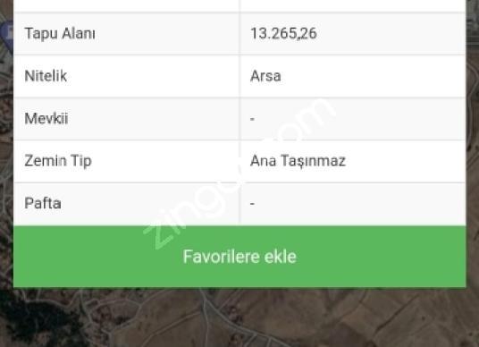 Ankara Altındağ Karapürçek'te Satılık Çok Amaçlı Arsa - undefined