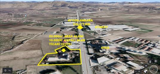 AFYON-ANKARA YOLU 7.KM'DE ÇOK AMAÇLI 22.000m² TİCARİ ALAN - Açık Otopark