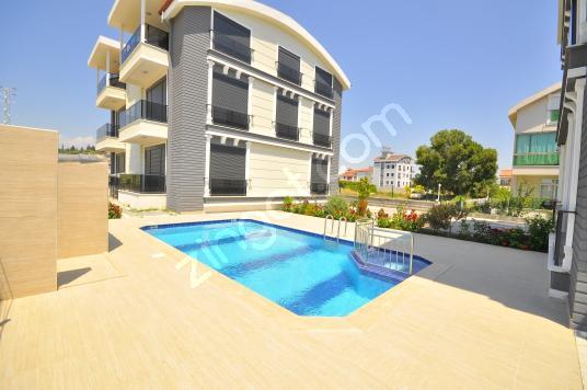 Manavgat Ilıca'da Satılık  havuzlu tripleks villa toplam 4 adet - Yüzme Havuzu