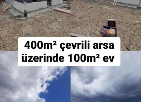 ÇATALCA DAĞYENİCEDE SATILIK 400M² ARSA ÜZERİNE 100M² MÜSTAKİL EV - Dış Cephe