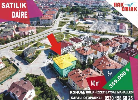 Hak Emlak'tan Bolu Merkez'de Satılık 140 m2 Çok Uygun Daire - Site İçi Görünüm