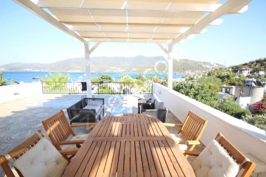 Bodrum Torbada tam müstakil deniz manzaralı yıllık kiralık villa - Manzara