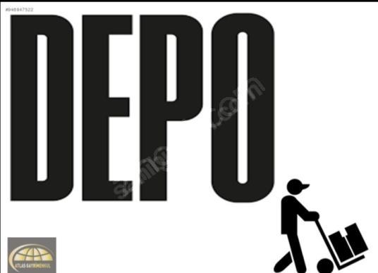 ESENLER ATIŞALANI CADDESİ ÜZERİ KİRALIK 2200 m2 DEPO - Logo
