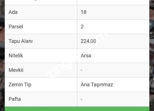 İzmir Çiğli Sasalı da Satılık Yatırımlık Arsa - Kat Planı