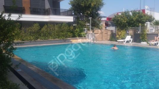 GÜZELOBA MAHALLESİNDE 1+1 EŞYALI KİRALIK DAİRE - Yüzme Havuzu
