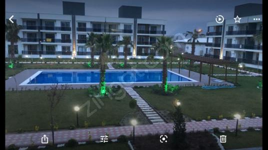 Manisa Muradiye Villalar Bölgesinde Havuzlu 1+1 Kiralık Daire - Yüzme Havuzu