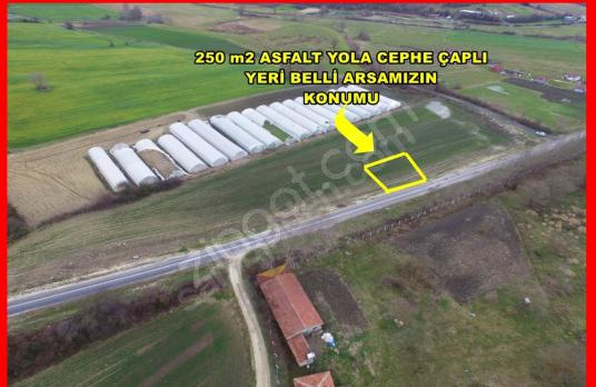 ACİL SATILIK SİLİVRİ FENERKÖY 1135 M2 TARLA YOLA CEPHELİ - Arsa