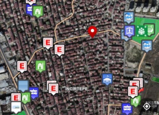 ESENYURT MERKEZDE ANA CADDE ÜZERİNDE TİCARİ+KONUT 5 KAT İMARLI - Kat Planı