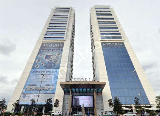 esentepe Astoria plazada kiralık 640m2 kiralık dekorasyonlu ofis - Dış Cephe