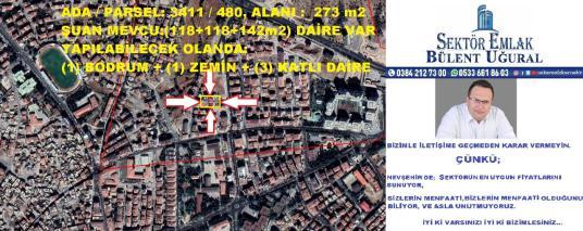 EMEK MH.'DE 3 KATLI 273 m2 ARSA ALANI, SATILIK MÜSTAKİL EV - Site İçi Görünüm