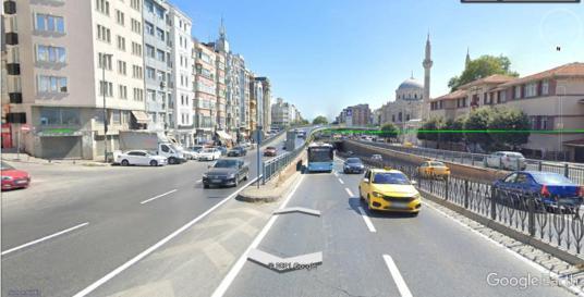 GÜNCEL !! AKSARAY YENİKAPI MERKEZİ KONUMDA SATILIK DÜKKAN !! - Sokak Cadde Görünümü