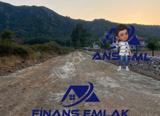 Marmaris Turgut'ta Satılık yola sıfır Tarla - Manzara