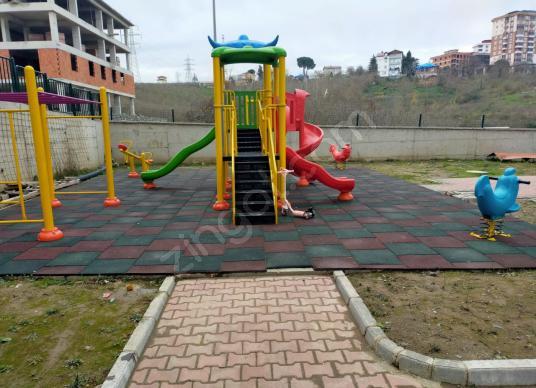 ŞAHİNCİLİ MAHALLESİ'NDE SATILIK SIFIR KULLANIŞLI SİTE DAİRELER - Çocuk Oyun Alanı