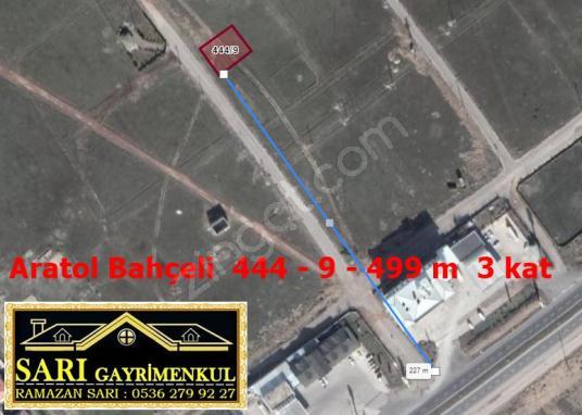 Aksaray Aratol Bahçeli'de Satılık Arsa  444 - 9 - 499 m  3 kat - Harita