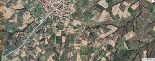 EDİRNE / UZUNKÖPRÜ  KIRCASALİH' te MAH.YANI 9 500 m2 KÖŞE TARLA - Bahçe