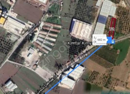 Menemen tükkelli novada arkası Yıldırım'da Satılık Çok Amaçlı - Kat Planı